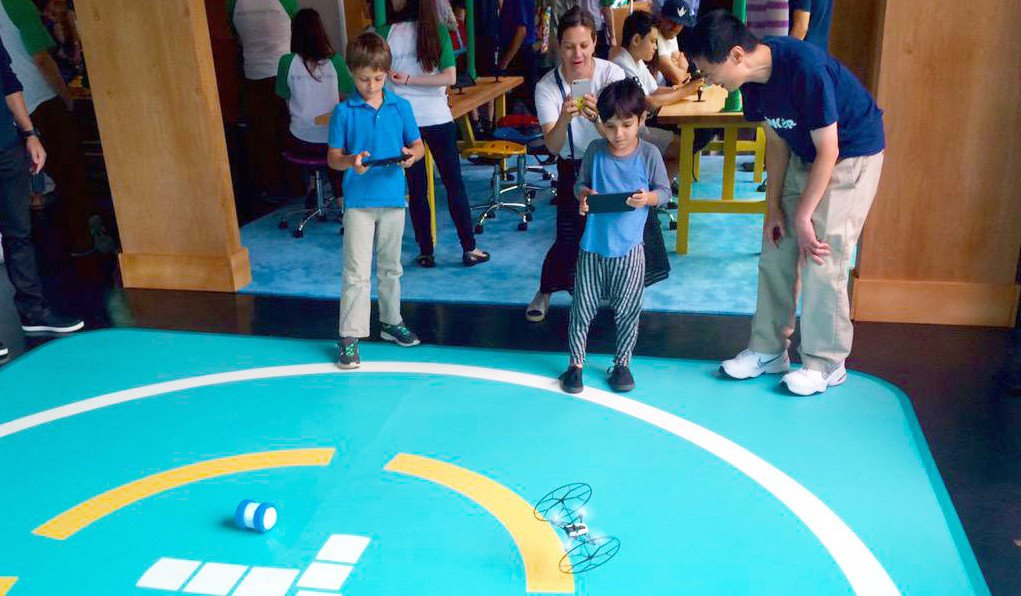 Playful Learning with Drones