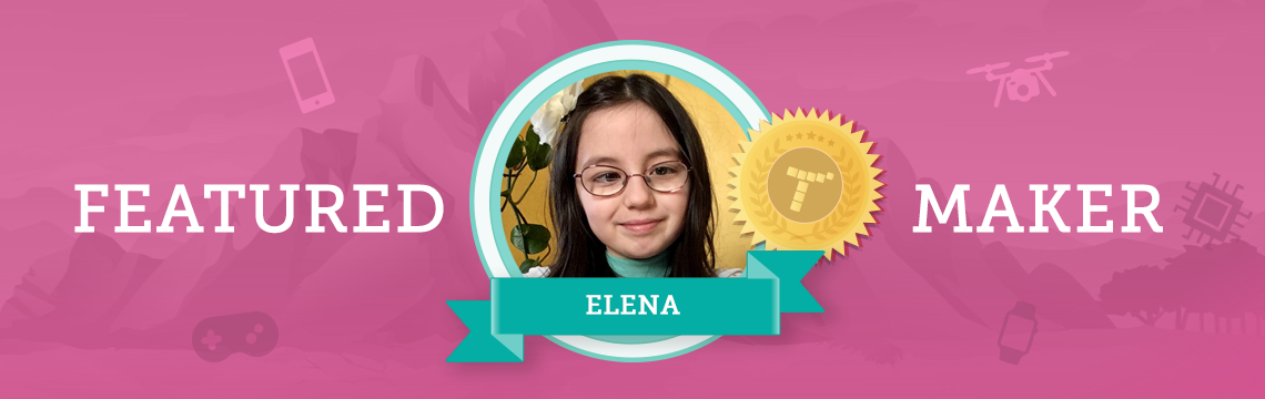 Artist Elena Brings Creativity Into Coding!