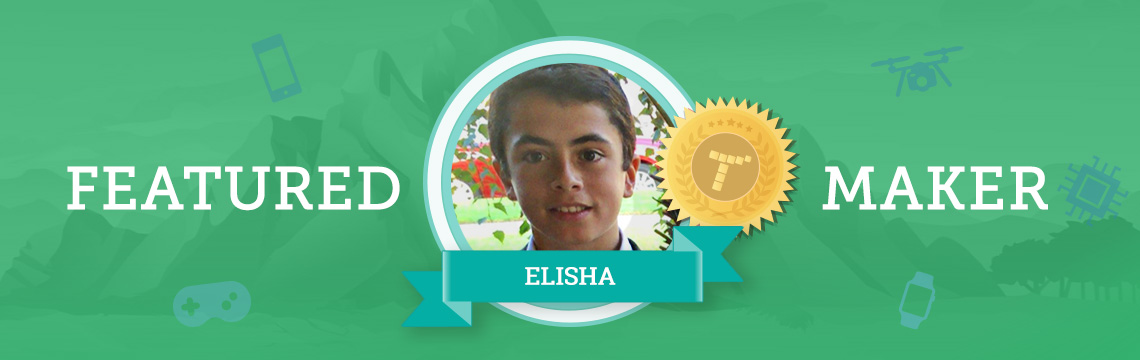 Elisha Combines His Hobbies With Coding