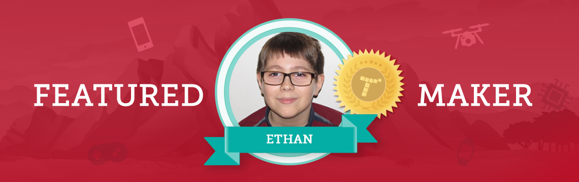 Gamer and Animator Ethan Loves Creating Games!