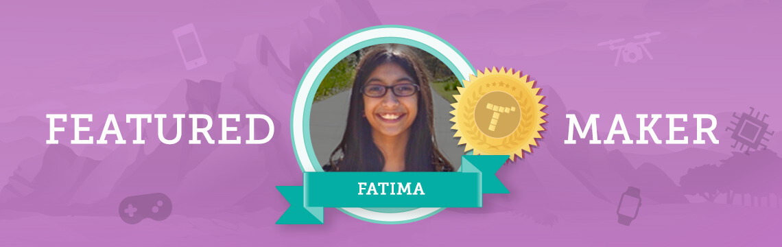 Meet Published Author (and Coder), Fatima!