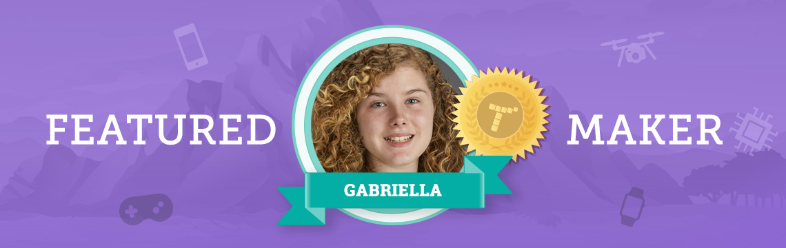 For Actress Gabriella, Coding Is Like Directing!