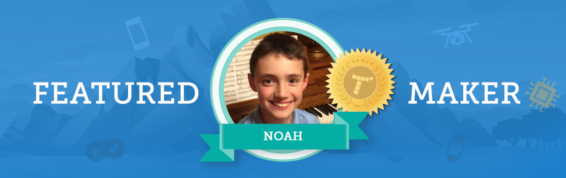 Noah Fuses Music and Art With Coding!
