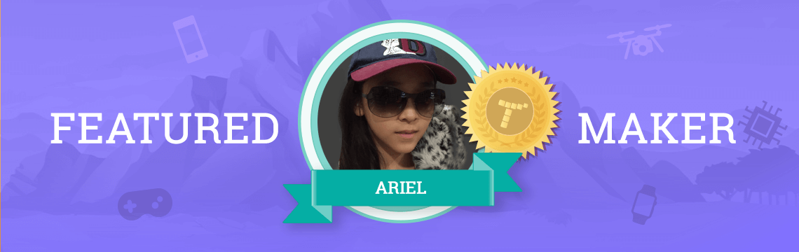 Ariel Uses Coding as a Stress Reliever!