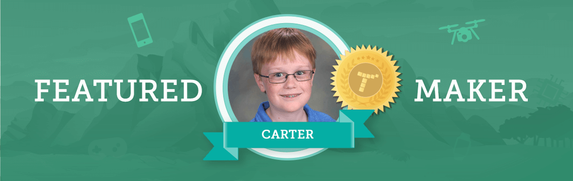 Creative Carter Draws Inspiration From Other Coders!
