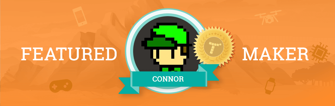 Coding is Connor's Passion!