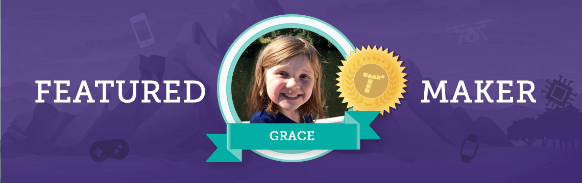 Future Doctor Grace Fuses Writing With Coding!
