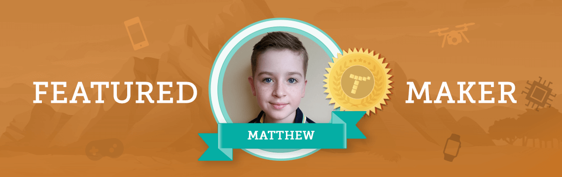 Matthew Thinks Imagination and Coding Go Hand in Hand!