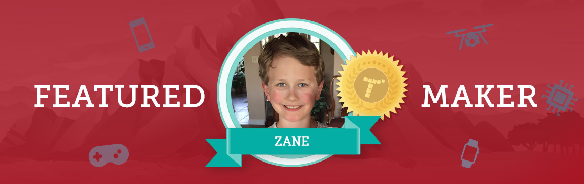 Future Lego Engineer Zane Loves Coding!