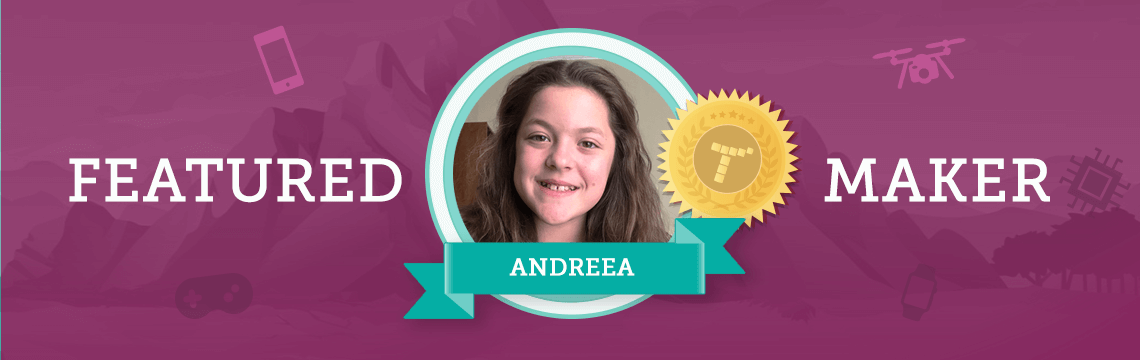 Andreea Sets an Example by Coding!