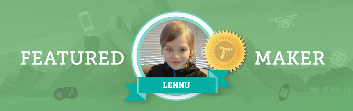 Ice Hockey Player Lennu Makes Amazing Games in Tynker!