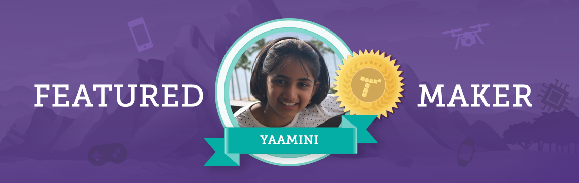 Tynker Helps Yaamini Spread Her Message