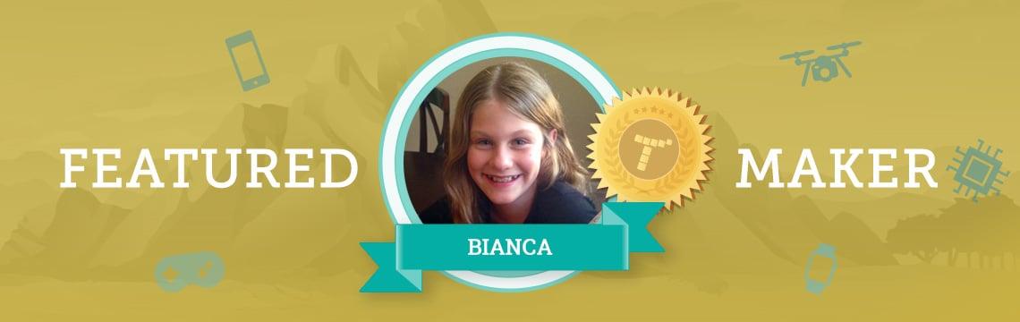 Curiosity Led Bianca To Begin Coding!
