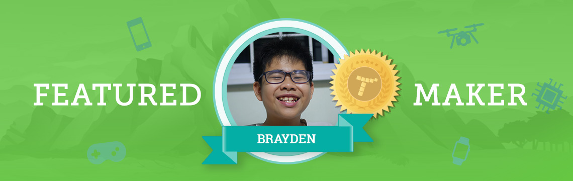 Brayden Uses Coding to Bring His Ideas to Life!