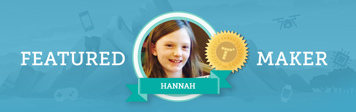 Hannah Makes Coding Projects Inspired By Her Dog!