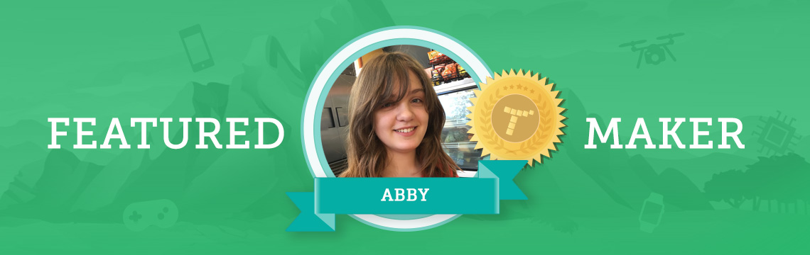 Abby Uses Coding to Bring Her Art to Life