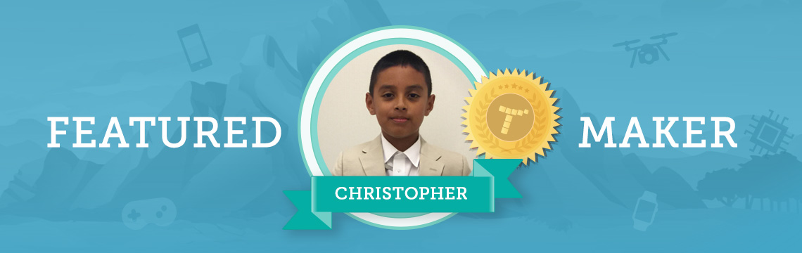 For Christopher, Coding Is a Way to Bring Joy to Others