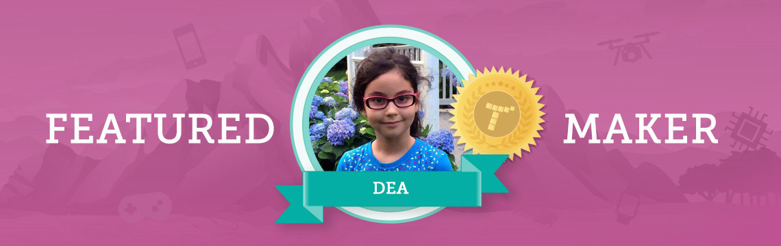 For Dea, Coding Is About Expressing Her Imagination