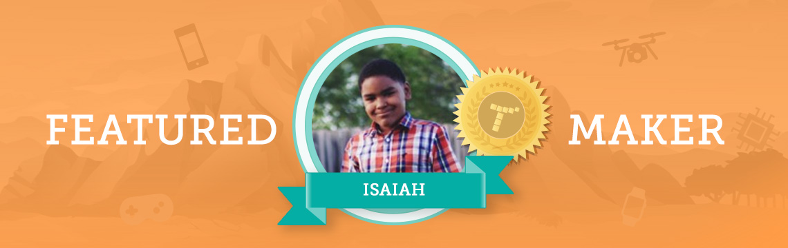 Isaiah Loves Coding to Make Games