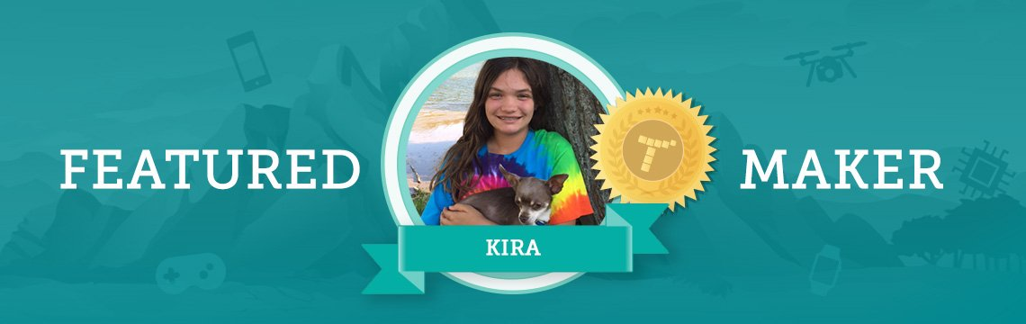 Meet Kira: Artist, Harry Potter Fan, Animal Lover, and Coder