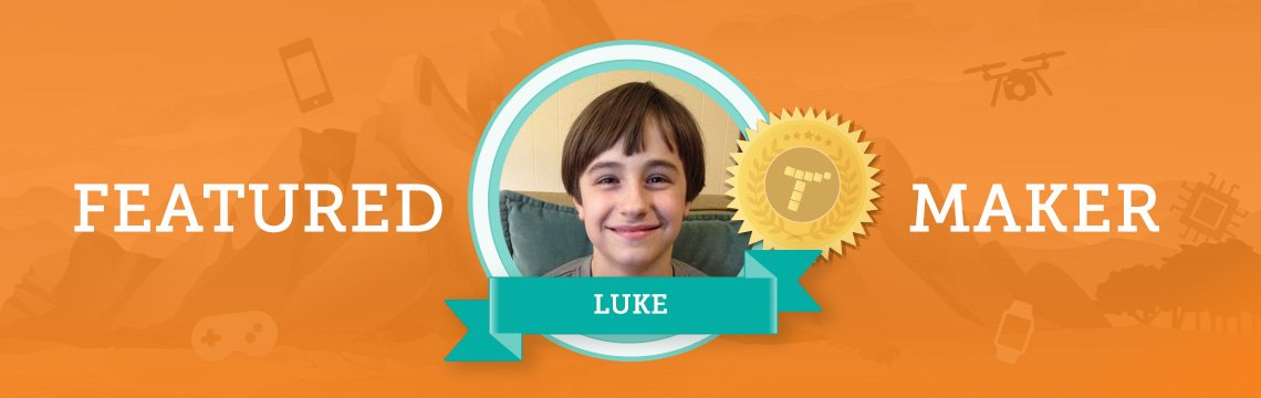 Meet Luke: Aspiring Engineer, Scientist, and Coder!