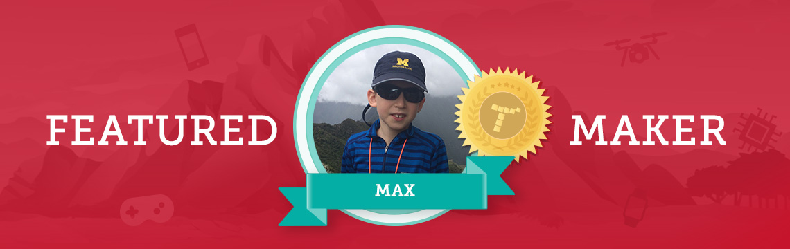 Rock Climber Max's Competitive Spirit Motivates Him to Code