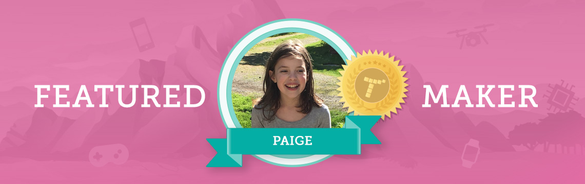Meet Paige: Artist, Animal Lover, and Coder