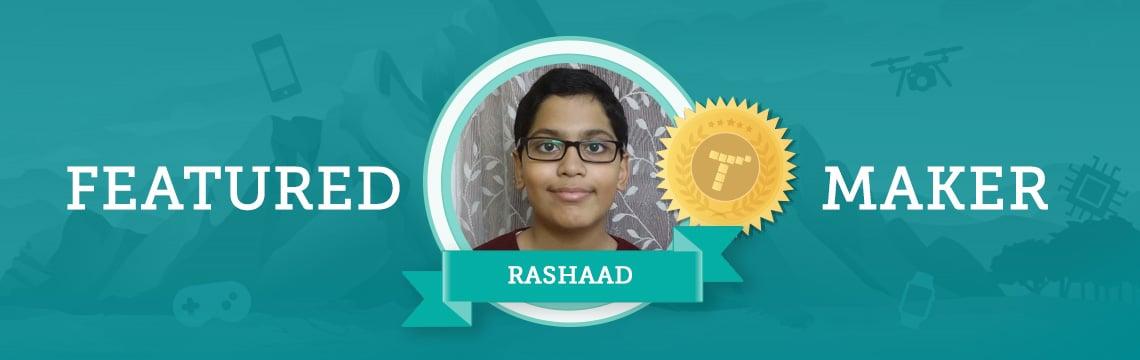 Future Scientist Rashaad Loves Coding Characters