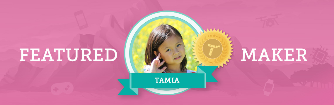 Tamia Thinks More Kids Should Code