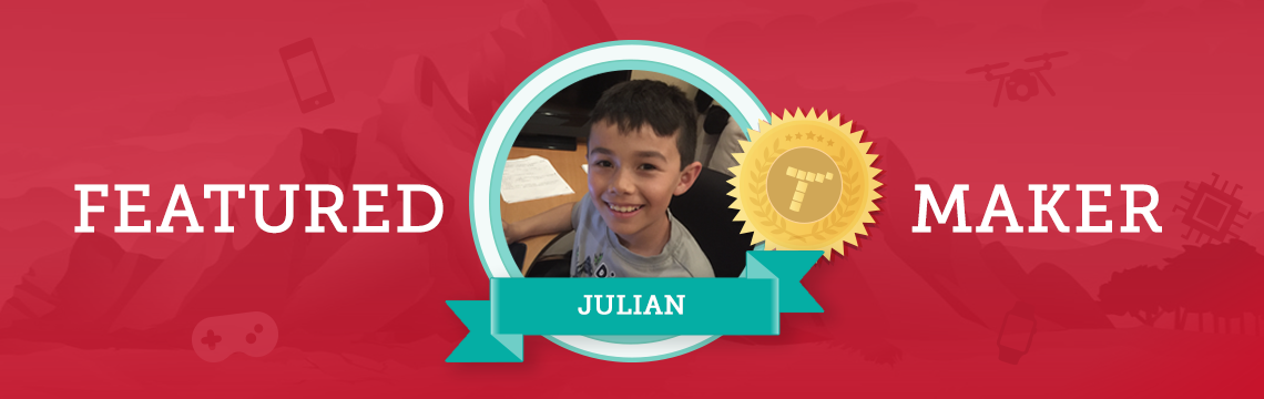 With Coding, Julian Makes His Own Rules