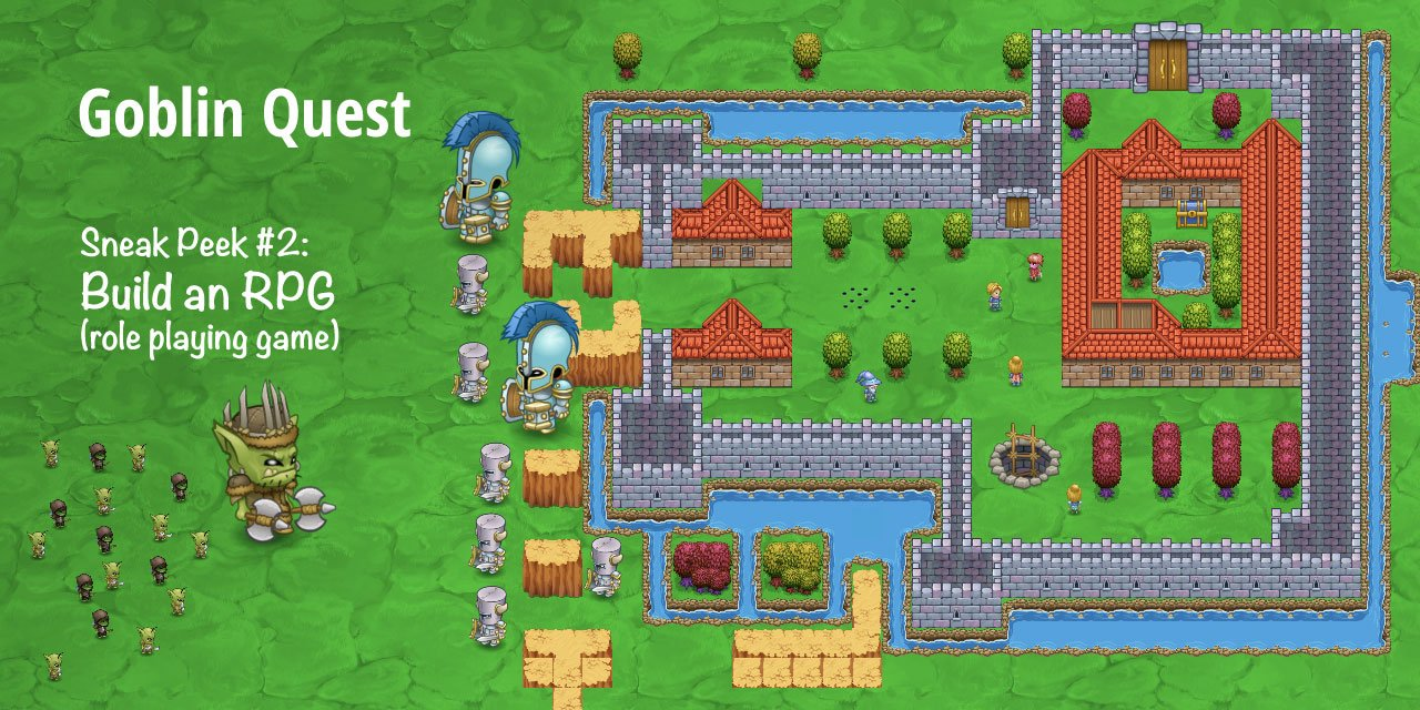 Build your own top-down RPG