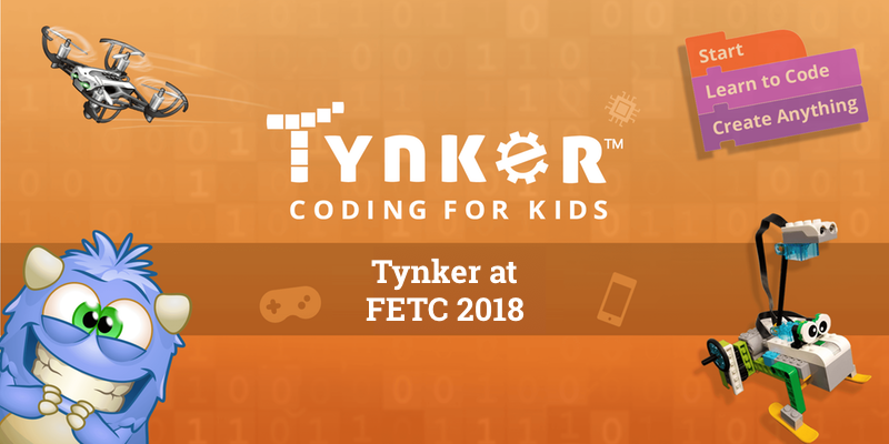 Tynker at FETC: Choose the Best Coding Curriculum