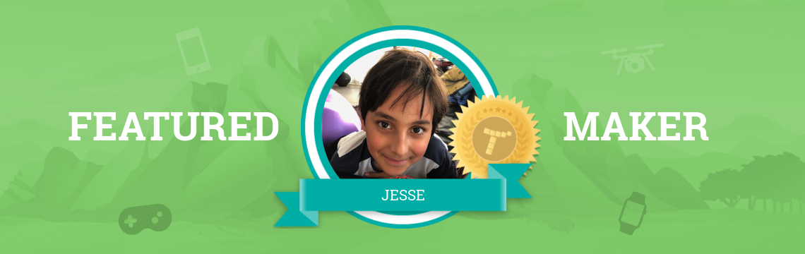 Jesse Builds Water Systems…and Tynker Projects!