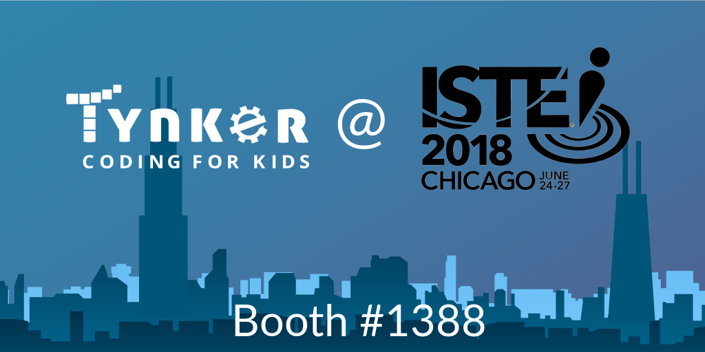 Tynker at ISTE18: Preview Apple Schoolwork and Tynker in Augmented Reality