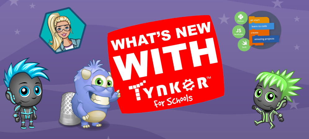 Everything New with Tynker for Fall 2018