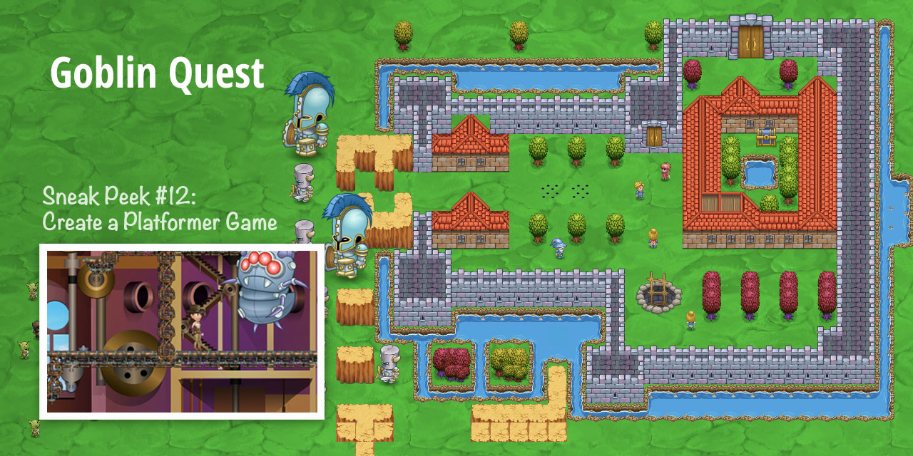 Build an Adventure-Based Platformer Game