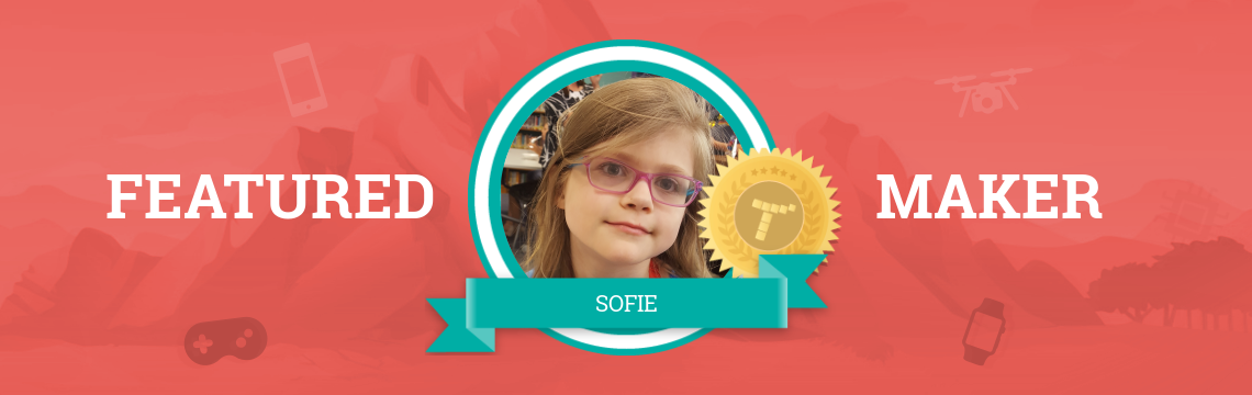 Future Vet Sofie Codes Amazing Animal Projects!