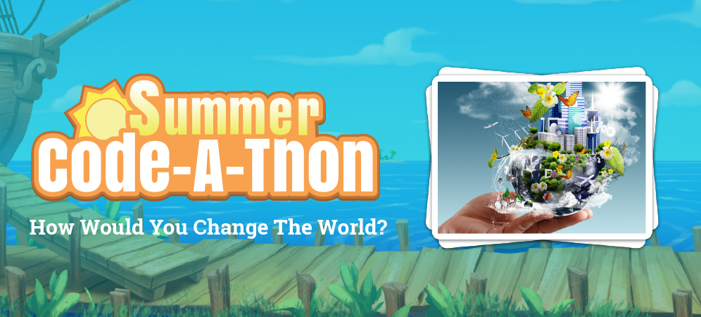 Week 3 Summer Code-A-Thon Challenge: Change the World!