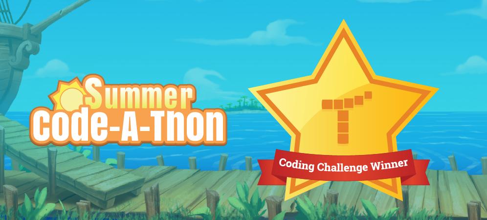 Summer Code-A-Thon Winners Announced!