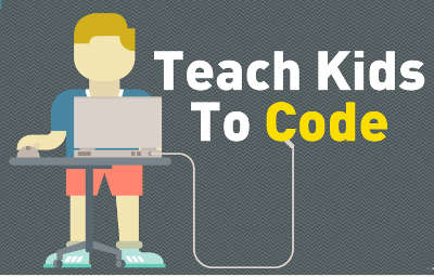 Teach Kids to Code header