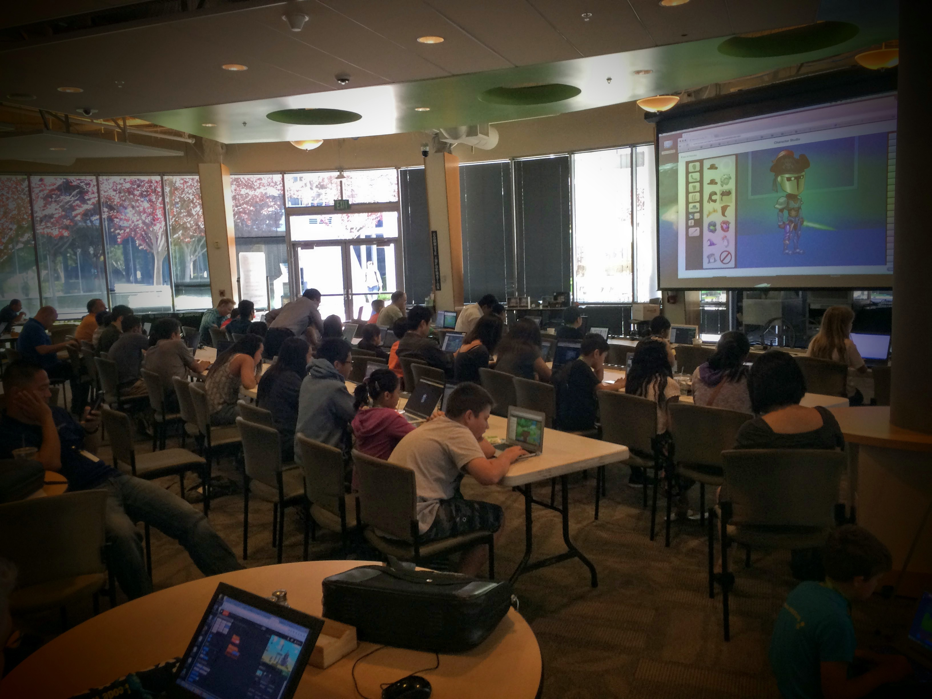 Bring Your Kids to Work Day at NVIDIA