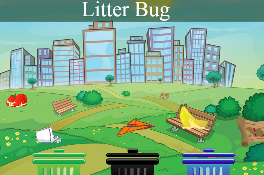 Sorting Litter Bug