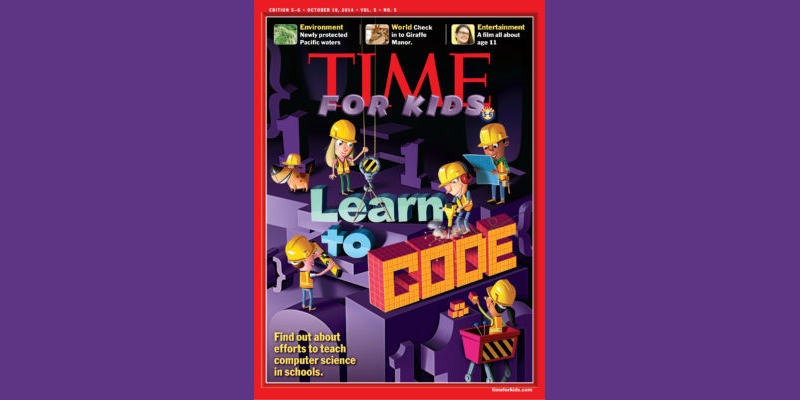 Time Magazine for Kids:  Learn to Code
