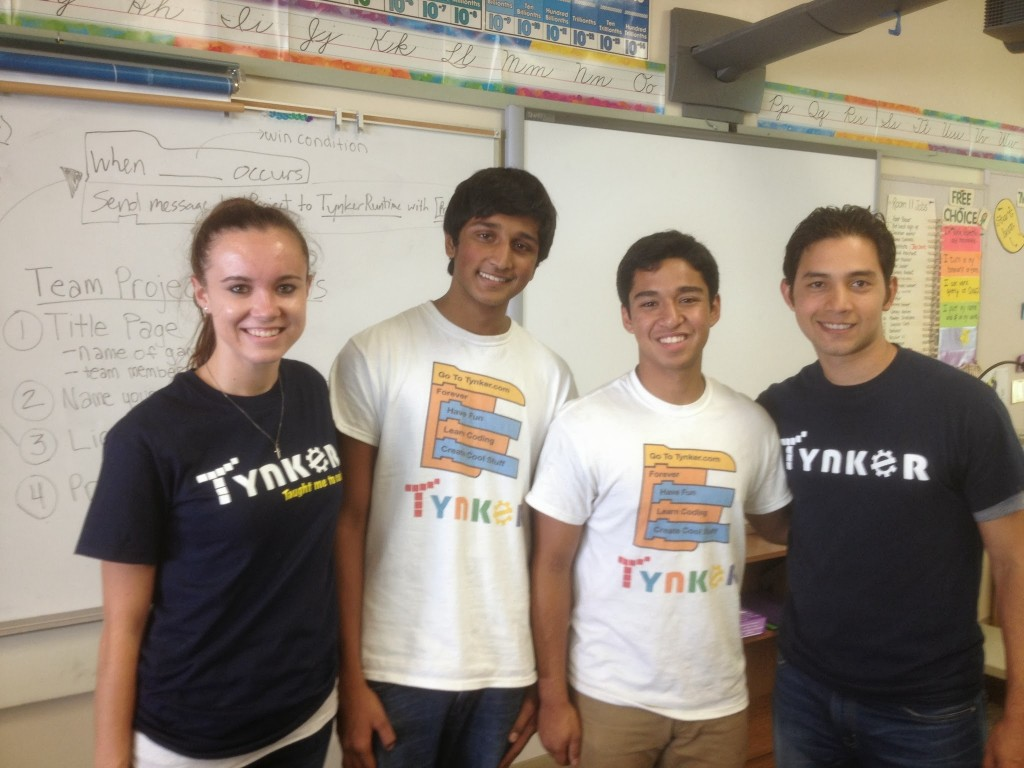 Tynker Summer Camp Instructors