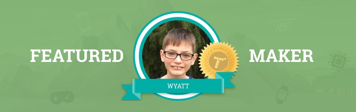 Wyatt Loves All Things Computers – Including Tynker!